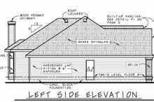 Home Plan - Traditional Exterior - Other Elevation Plan #20-2419