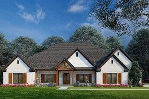 Craftsman Exterior - Front Elevation Plan #923-215