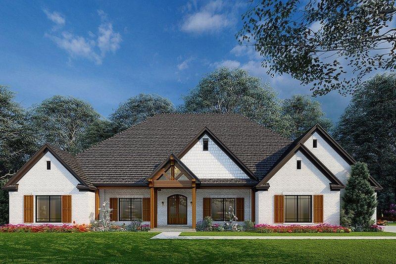 House Design - Craftsman Exterior - Front Elevation Plan #923-215