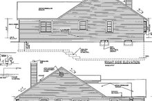 Dream House Plan - Country Exterior - Other Elevation Plan #3-266