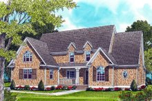 Home Plan - Craftsman Exterior - Front Elevation Plan #413-813