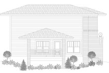 House Plan Design - Contemporary Exterior - Other Elevation Plan #932-134