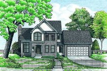 Traditional Exterior - Front Elevation Plan #20-501