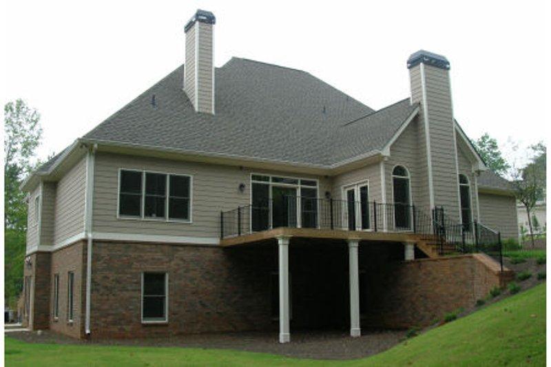 Traditional Exterior - Rear Elevation Plan #437-35 - Houseplans.com