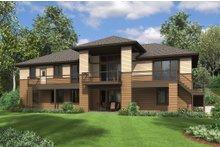 Dream House Plan - Prairie Exterior - Rear Elevation Plan #48-657