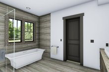 Craftsman Interior - Master Bathroom Plan #1069-12