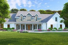 Farmhouse Exterior - Front Elevation Plan #923-102