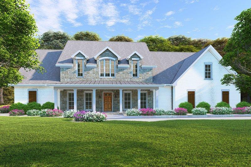 House Design - Farmhouse Exterior - Front Elevation Plan #923-102