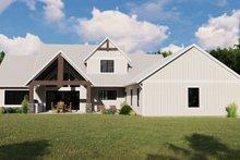 Dream House Plan - Farmhouse Exterior - Rear Elevation Plan #1064-101
