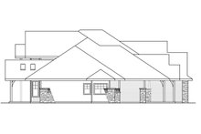 Dream House Plan - Craftsman Exterior - Other Elevation Plan #124-930