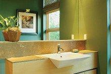 Modern Interior - Master Bathroom Plan #48-457