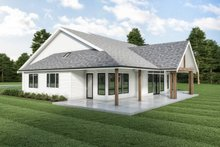 Dream House Plan - Farmhouse Exterior - Other Elevation Plan #1070-118
