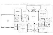 Traditional Style House Plan - 3 Beds 2.5 Baths 2058 Sq/Ft Plan #437-110 Floor Plan - Main Floor Plan