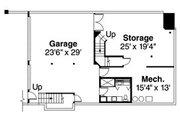 Craftsman Style House Plan - 4 Beds 4.5 Baths 4506 Sq/Ft Plan #124-516 Floor Plan - Lower Floor