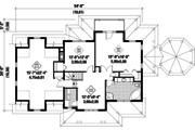 Country Style House Plan - 2 Beds 2 Baths 2571 Sq/Ft Plan #25-4686 Floor Plan - Upper Floor Plan
