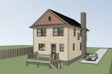 Home Plan - Bungalow Exterior - Other Elevation Plan #79-213
