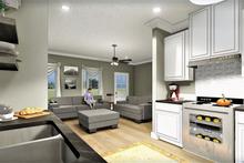 Traditional Interior - Kitchen Plan #44-223