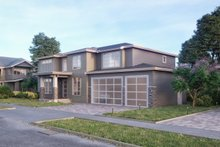 Contemporary Exterior - Front Elevation Plan #1066-14