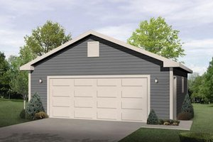 Traditional Exterior - Front Elevation Plan #22-562