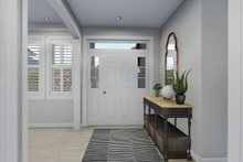 Farmhouse Interior - Entry Plan #1060-47