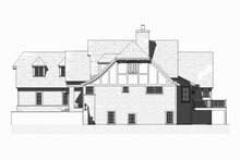 Tudor Exterior - Other Elevation Plan #901-119