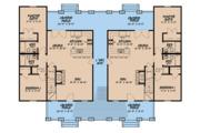 Craftsman Style House Plan - 4 Beds 3 Baths 1595 Sq/Ft Plan #923-123 Floor Plan - Main Floor Plan