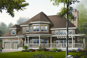 Traditional Exterior - Front Elevation Plan #23-808