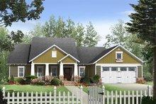 Dream House Plan - Craftsman Exterior - Front Elevation Plan #21-274