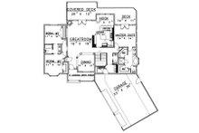 Country Floor Plan - Main Floor Plan Plan #117-572