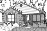 Craftsman Style House Plan - 3 Beds 2 Baths 1558 Sq/Ft Plan #63-386