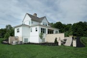 Farmhouse Style House Plan - 3 Beds 3.5 Baths 3177 Sq/Ft Plan #928-309 Exterior - Rear Elevation