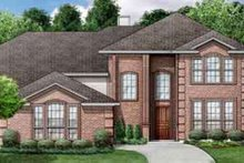 Home Plan - European Exterior - Front Elevation Plan #84-186