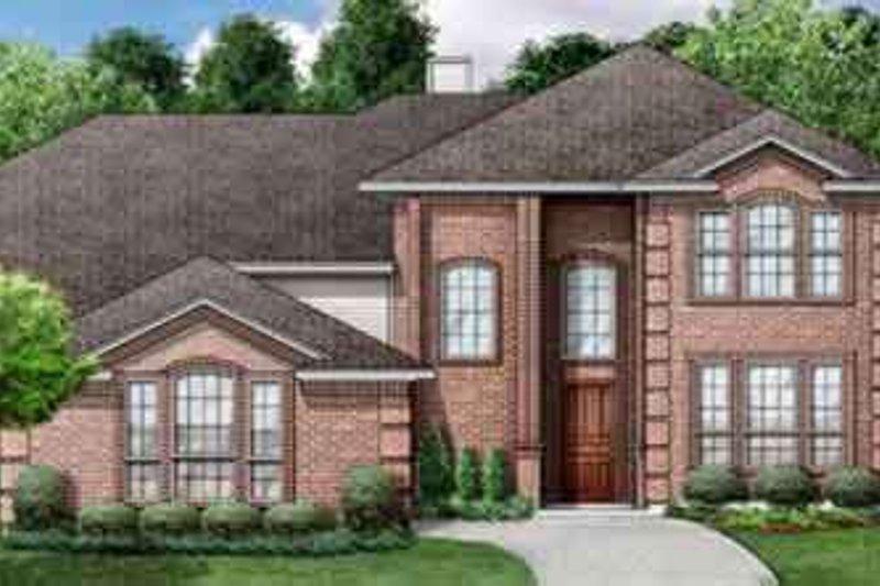 Dream House Plan - European Exterior - Front Elevation Plan #84-186