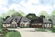 European Style House Plan - 4 Beds 3.5 Baths 4810 Sq/Ft Plan #17-2387