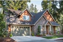 House Plan Design - Craftsman Exterior - Front Elevation Plan #48-553