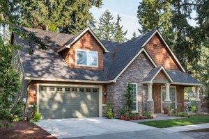 Craftsman Exterior - Front Elevation Plan #48-553