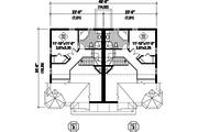 Traditional Style House Plan - 6 Beds 4 Baths 3798 Sq/Ft Plan #25-4515 Floor Plan - Upper Floor Plan