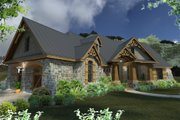 Craftsman Style House Plan - 3 Beds 3 Baths 2847 Sq/Ft Plan #120-172 Exterior - Other Elevation