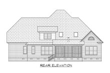 Architectural House Design - Traditional Exterior - Rear Elevation Plan #1054-71