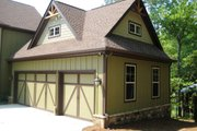 Craftsman Style House Plan - 4 Beds 3.5 Baths 2961 Sq/Ft Plan #437-5 Exterior - Other Elevation