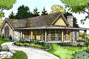 Country Style House Plan - 3 Beds 2 Baths 1963 Sq/Ft Plan #140-116