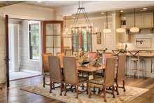 Dream House Plan - Country Interior - Dining Room Plan #928-1