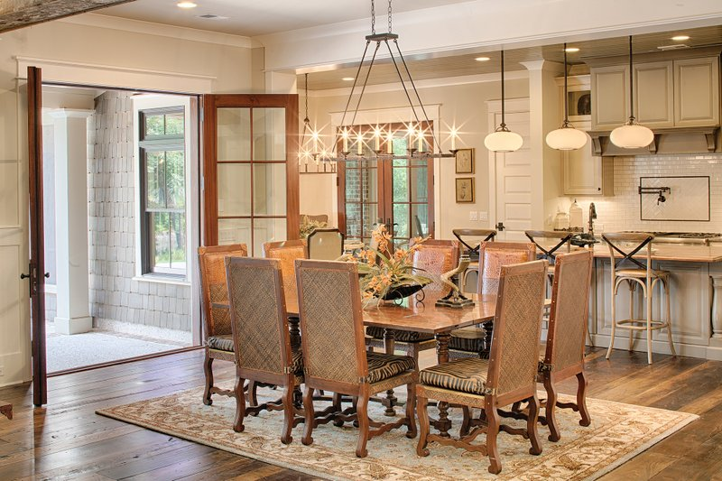 Country Interior - Dining Room Plan #928-1 - Houseplans.com