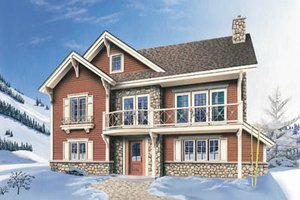 Traditional Exterior - Front Elevation Plan #23-2046