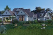 Farmhouse Style House Plan - 3 Beds 2.5 Baths 2984 Sq/Ft Plan #120-195 Exterior - Rear Elevation