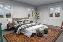 Dream House Plan - Traditional Interior - Master Bedroom Plan #1060-7