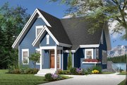 Country Style House Plan - 3 Beds 2 Baths 1579 Sq/Ft Plan #23-2264 Exterior - Front Elevation