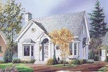 House Plan Design - Cottage Exterior - Front Elevation Plan #23-216