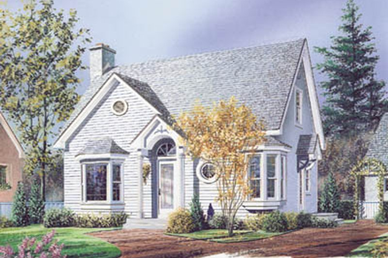 Cottage Style House Plan - 3 Beds 2.5 Baths 1258 Sq/Ft Plan #23-216