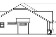Ranch Style House Plan - 4 Beds 3 Baths 2481 Sq/Ft Plan #124-371 Exterior - Other Elevation